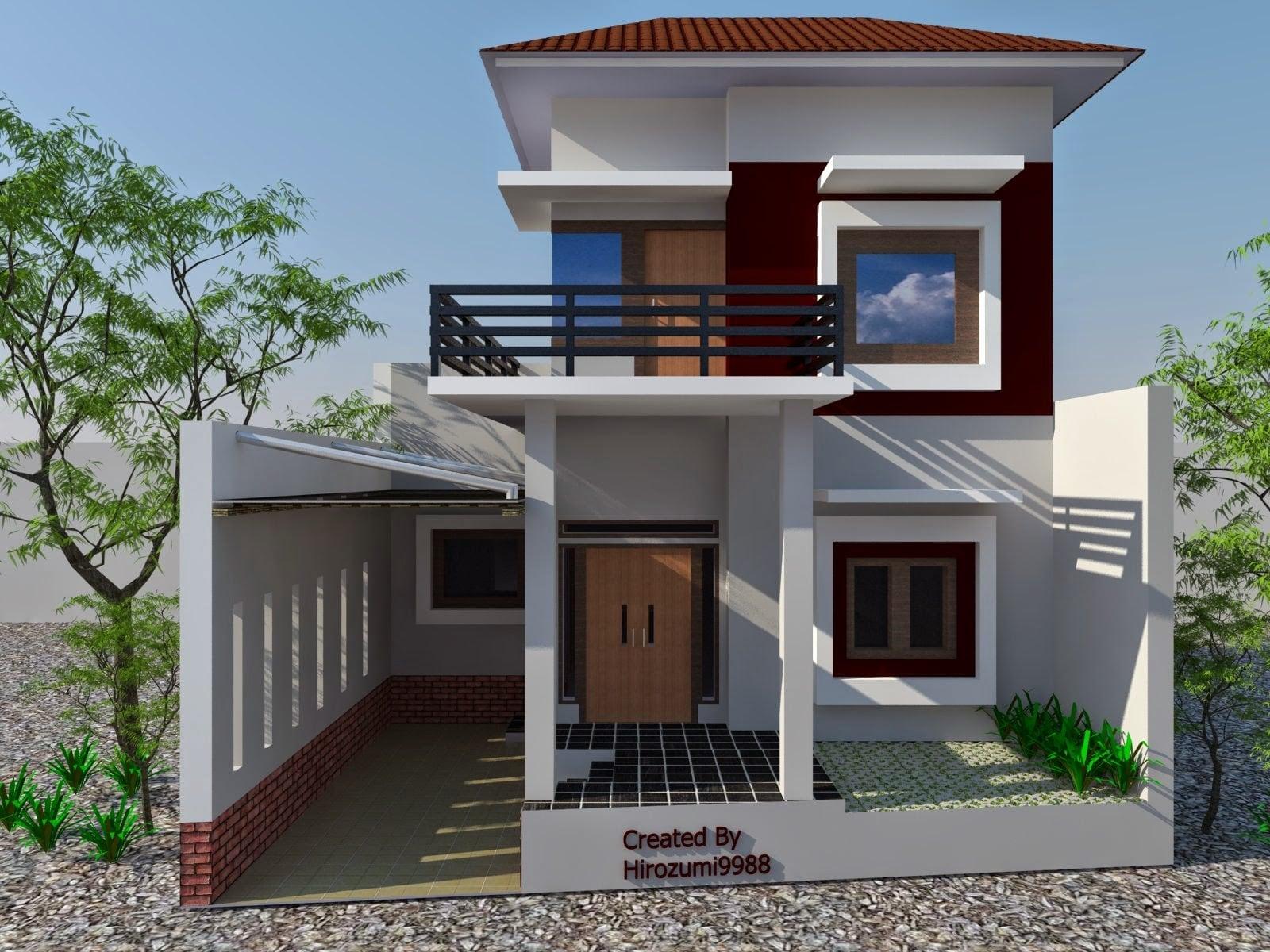 23 Trendy Rumah Minimalis 2 Lantai Paling Banyak di Cari