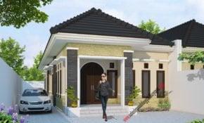 25 Gambar Desain Rumah Klasik Modern 1 Lantai Kreatif Deh