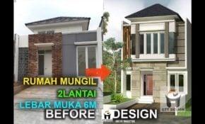31 Trendy Rumah Minimalis 3 Lantai Lebar 6 Meter Istimewa Banget