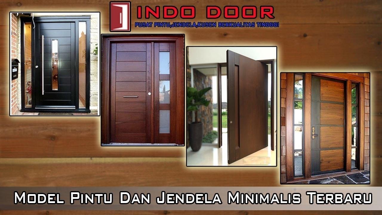 33 Gambar Pintu Jendela Minimalis Terbaru dan Terlengkap