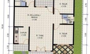 35 Populer Rumah Sederhana 3 Kamar Paling Terkenal