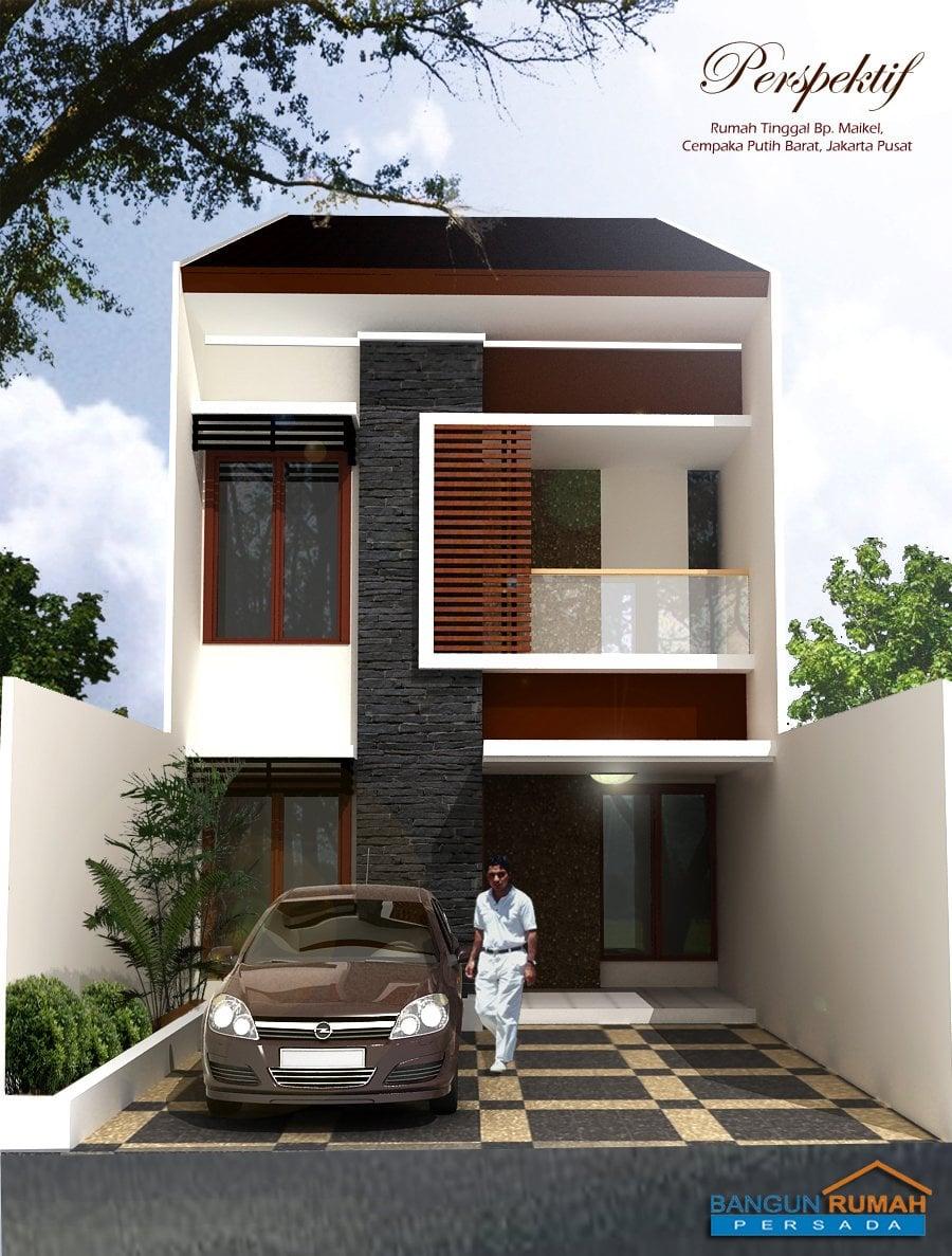 45 Ide Cantik Rumah Minimalis 3 Lantai Lebar 6 Meter Terbaru dan Terlengkap