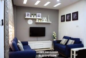 46 populer dekorasi ruang tamu rumah teres yang belum