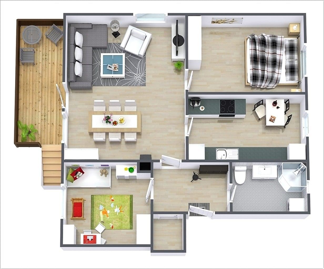 50 Ragam Seni Rancangan Rumah Minimalis Paling Terkenal