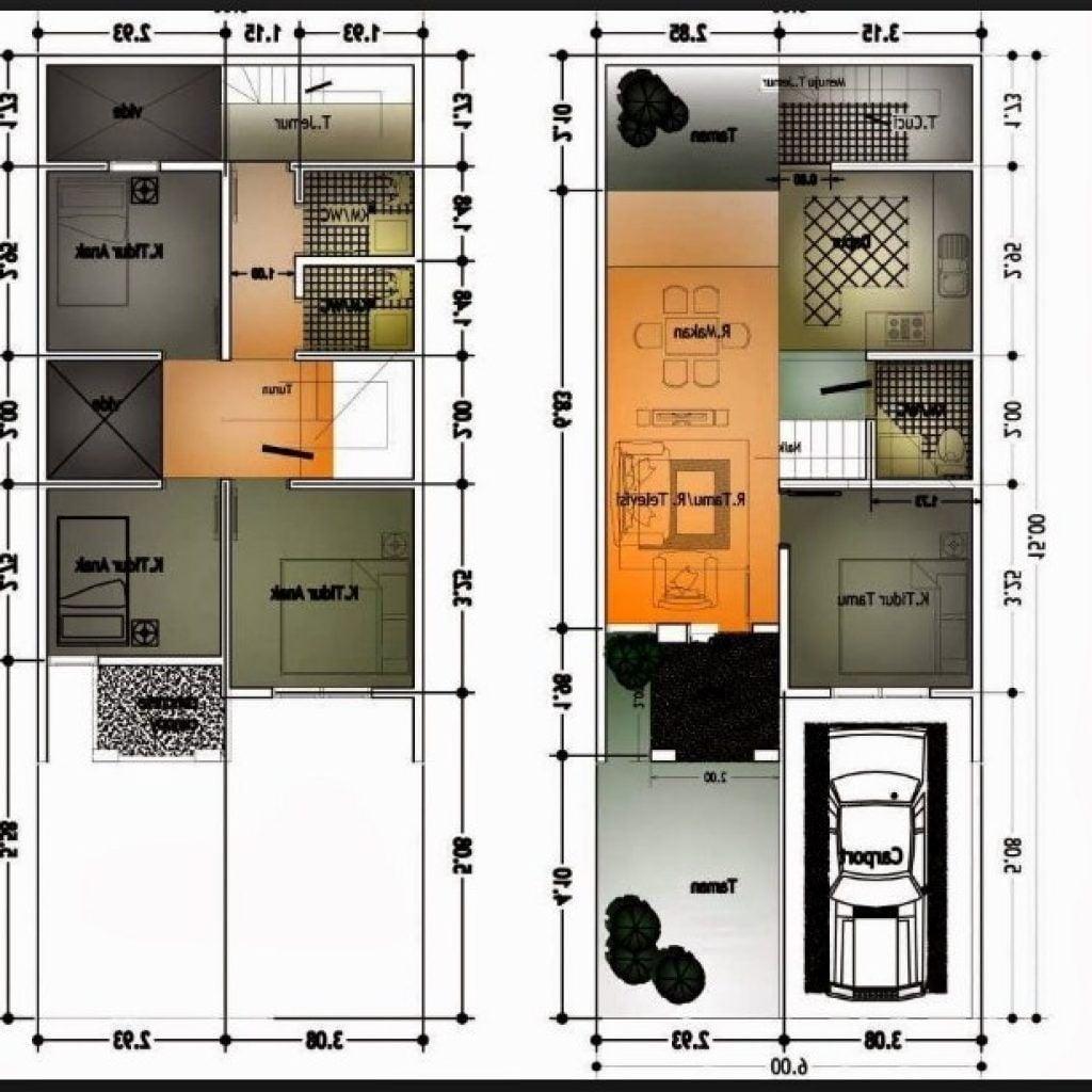 62 Gambar Model Rumah Minimalis 6×10 Paling Populer di Dunia
