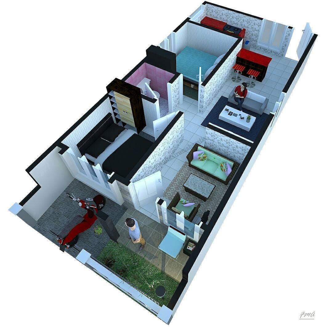 65 Terindah Model Rumah Minimalis 6×10 Yang Belum Banyak Diketahui