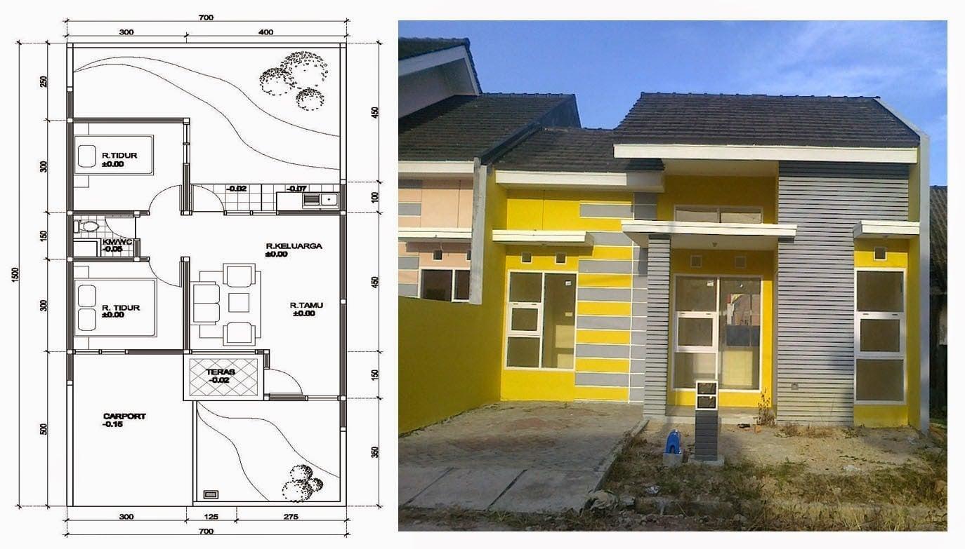 69 Ide Cantik Rancangan Rumah Minimalis Trend Masa Kini