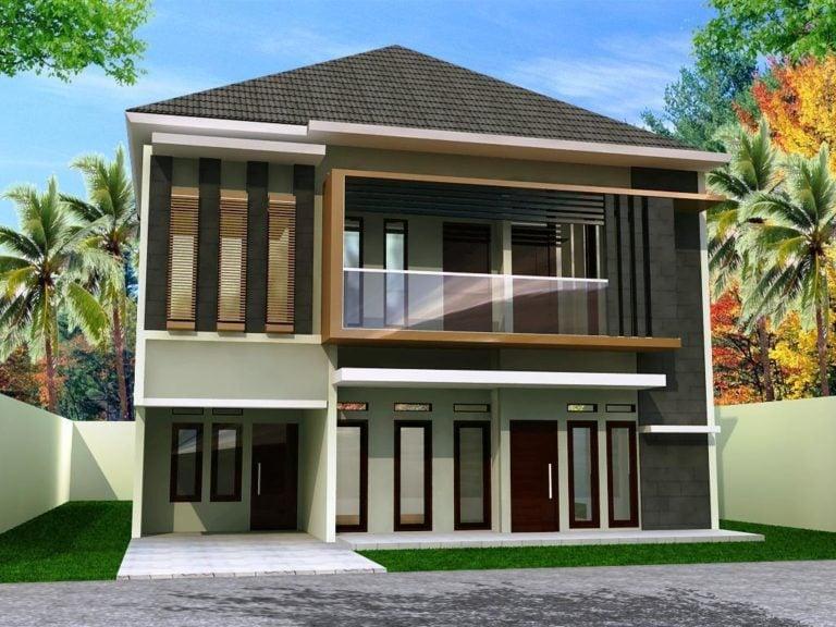 77 Inspirasi Desain Warna Cat Luar Rumah Minimalis ...
