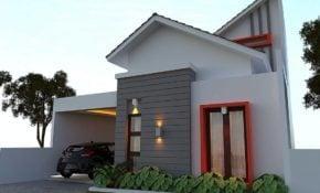 78 Gambar Tampak Depan Rumah Minimalis Sederhana Terbaru 2020