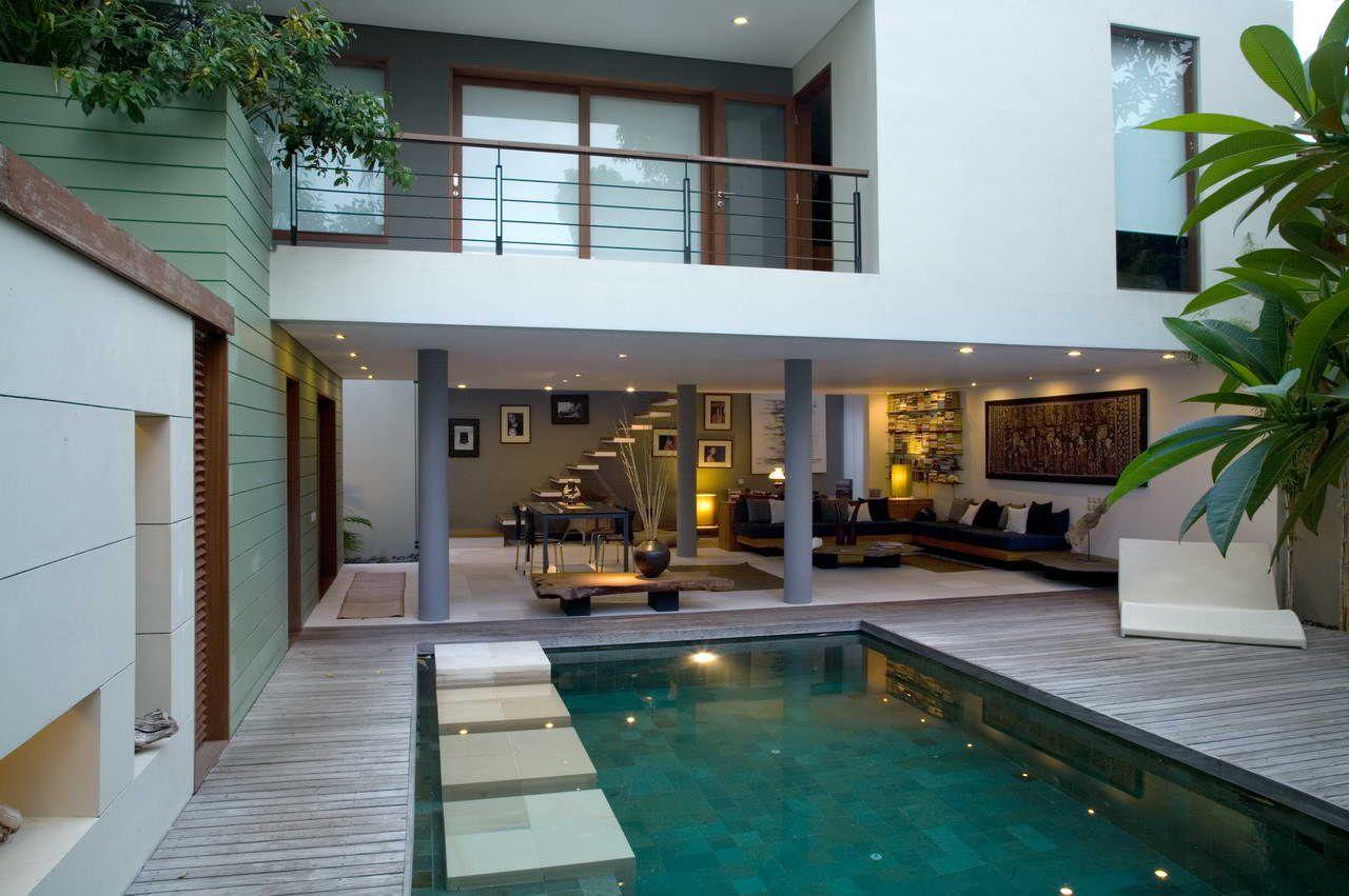 93 Inspirasi Rumah Minimalis Modern Kolam Renang Paling Terkenal