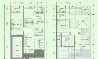 98 Ragam Seni Denah Rumah 8×12 Terbaru dan Terlengkap
