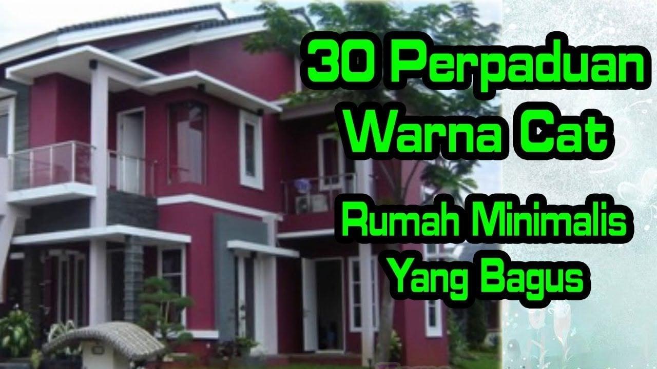 20 Kumpulan Perpaduan Warna Cat Rumah Minimalis Terbaru dan Terlengkap