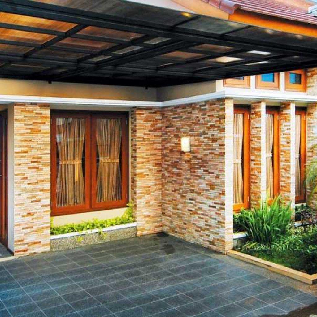39 New Model Batu Alam Untuk Teras Rumah Minimalis Trend Masa Kini