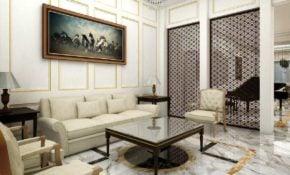 31 Trendy Desain Ruang Tamu Modern Mewah Paling Terkenal
