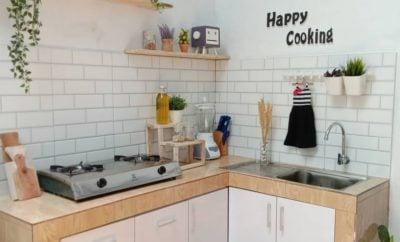 33 Ide Cantik Desain Dapur Minimalis Sederhana Kreatif Deh