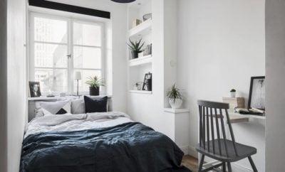 36 Trendy Desain Kamar Tidur Kecil Minimalis Terlengkap