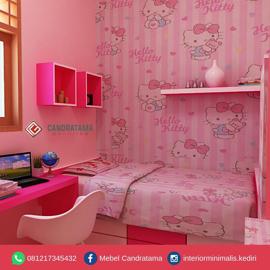 43 Inspirasi Desain Kamar Tidur Anak Perempuan Hello Kitty Paling Banyak Di Cari Arcadia Design Architect