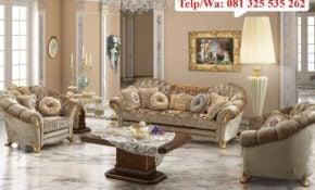 53 Kumpulan Desain Ruang Tamu Klasik Mewah Terlengkap