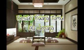 69 Ragam Seni Desain Ruang Tamu Minimalis Ala Jepang Paling Terkenal