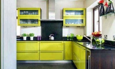 82 Gambar Desain Dapur Hijau Paling Populer di Dunia