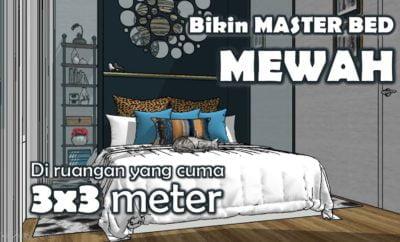28 Kumpulan Desain Kamar Tidur 3x3 Meter Sederhana Yang Belum Banyak Diketahui