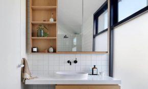 75 Ide Cantik Desain Interior Kamar Mandi Kecil Minimalis Terlengkap